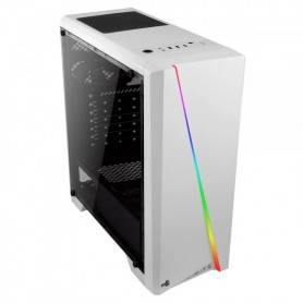 Caixa AEROCOOL CYLON ATX RGB Lighting Full Side Window, white - CYLONW