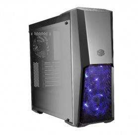 Cooler Master MasterBox MB500, RGB Led Fans + Controller + Splitter included. Tempered Glass Window - MCB-B500D-KGNN-S00