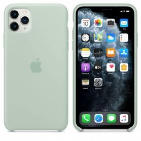Apple iPhone 11 Pro Max Silicone Case - Beryl - MXM92ZM/A