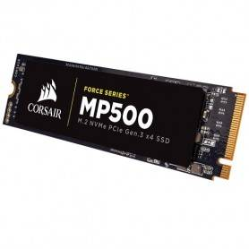 Corsair SSD Force MP500 series NVMe PCIe M.2 480GB, Up to 3,000MB/s Sequential Read - CSSD-F480GBMP500