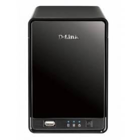 D-link 2-Bay Mydlink Network Video Recorder, 16 channel live view/recording, 1 Ch playback - DNR-322L