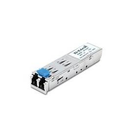 1-Port Mini-GBIC to 1000BaseLX Transceiver, Mini GBIC to 1000BaseLX Single-mode Fiber Transceiver, Distance to 10km - DEM-310GT