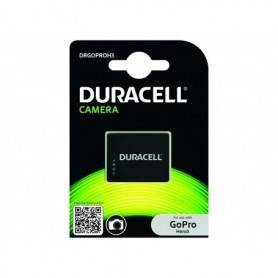 Battery Camera Duracell Lithium ion - Action Camera Battery 3.7V 1000mAh DRGOPROH3