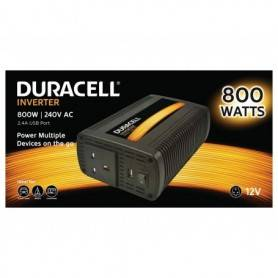 Power Power inverter  DC - Duracell 800W Single UK Socket Inverter (With 2.1A USB)