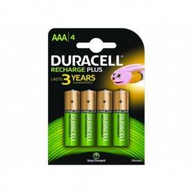 DURACELL BLISTER 4 PILHAS AAA STAYCHARGED HR3-B