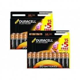 Battery General  Alkaline - Duracell Plus AA 40 Pack MN1500-X40
