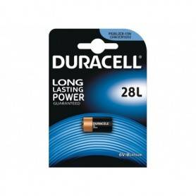 Battery Camera  Lithium - Duracell 6V Lithium Photo Battery 1 Pack PX28L