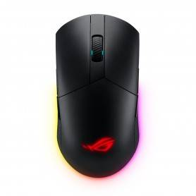 Asus ROG Pugio II ambidextrous lightweight wireless gaming mouse with 16,000 dpi optical sensor - 90MP01L0-BMUA00