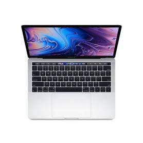 Apple MacBook Pro 13'' with Touch Bar - 1.4GHz quad-core 8th-generation Intel Core i5 processor, 256GB - Silver - MXK62PO/A