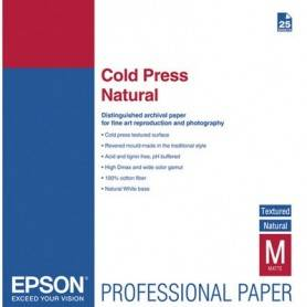 Epson Fine Art Paper Cold Press Natural A3+ - C13S042300
