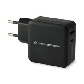 Conceptronic ALTHEA 2-Port 30W USB PD Charger - ALTHEA01B